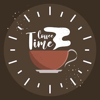 L'heure du café de la bannière