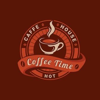 Heure du café vintage détaillée