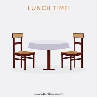 L'heure du déjeuner!