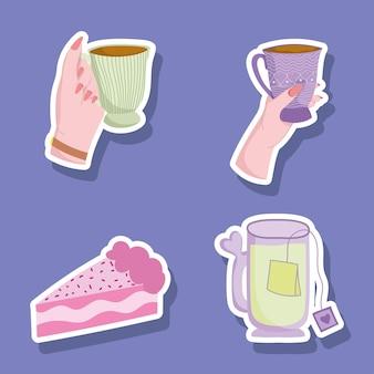 L'heure du thé au café