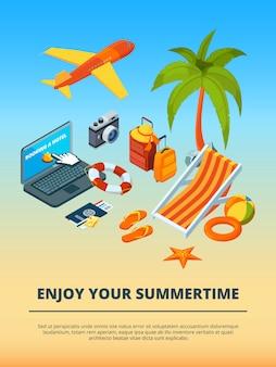 Heure d'été divers objets
