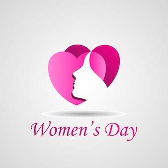 Heureuse illustration vectorielle de femmes jour