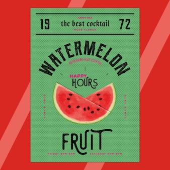 Heureuses heures - watermelon