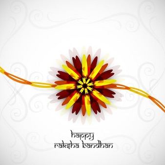 Heureux fond raksha bandhan