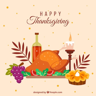 Heureux fond de thanksgiving