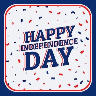 Heureux indépendance jour fond
