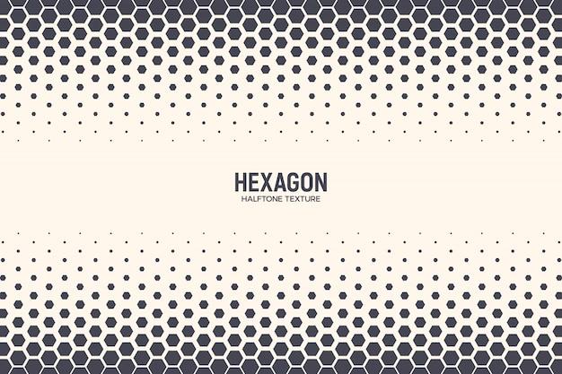 Hexagones pattern border technology résumé contexte géométrique