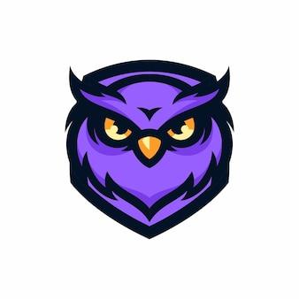 Hibou - vector logo / icône illustration mascotte