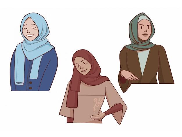 Hijab - fille musulmane