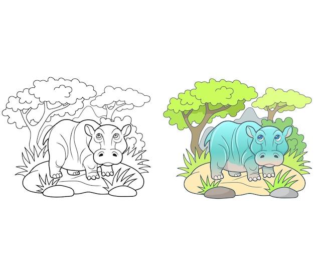 Hippopotame mignon