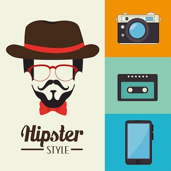 Hispter lifestyle et mode
