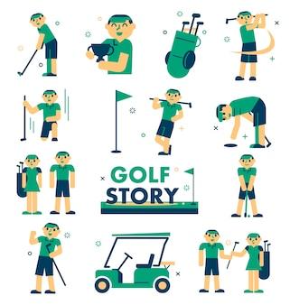 Histoire de golf