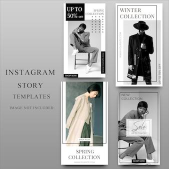 Histoire instagram pour modèle de médias sociaux