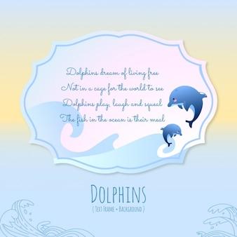 Histoires des animaux, des dauphins