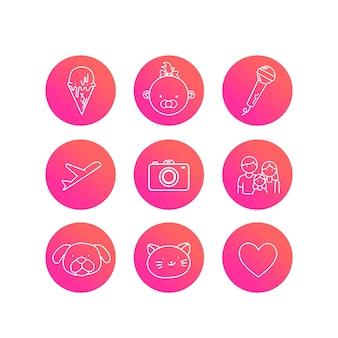 Histoires de gradient instagram