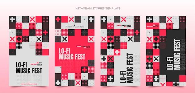 Histoires instagram du festival de musique mosaic