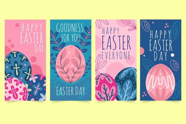 Histoires instagram du jour de pâques