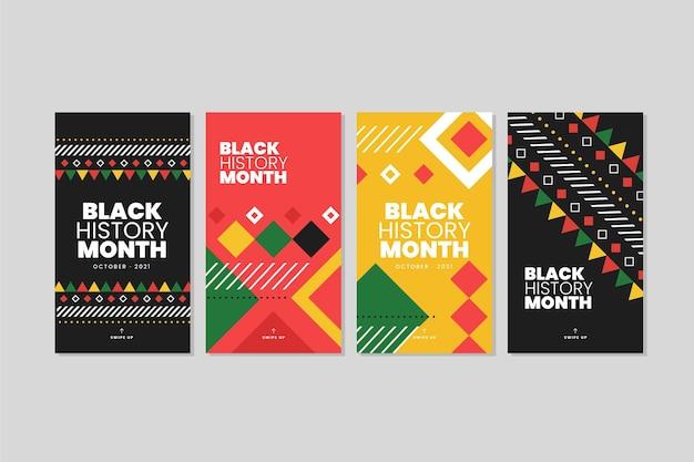 Histoires instagram du mois de l'histoire des noirs