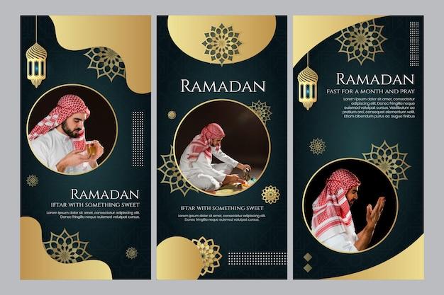 Histoires instagram du ramadan