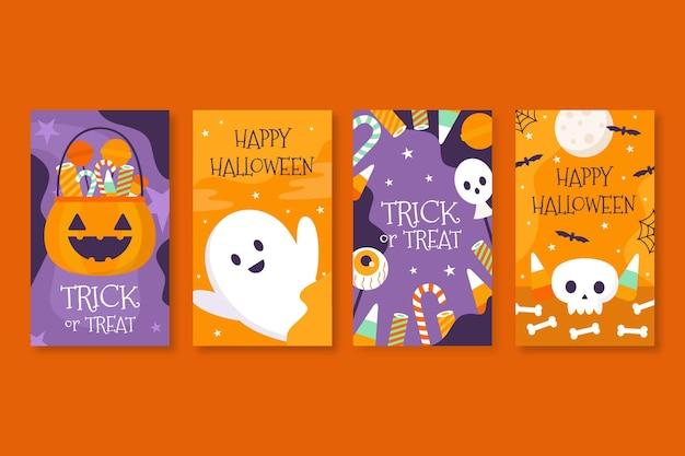 Histoires instagram d'halloween