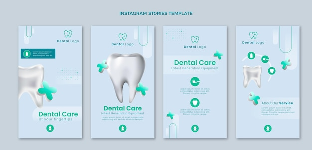 Histoires instagram médicales réalistes