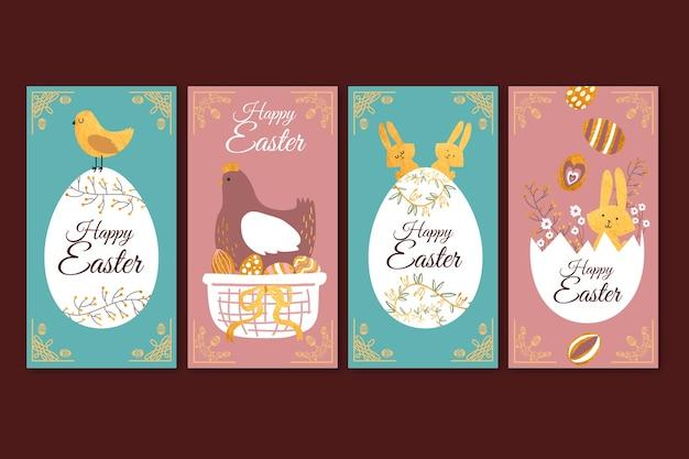 Histoires instagram prévues pour pâques