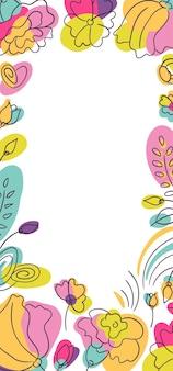 Histoires de saison florales millefleur d'été