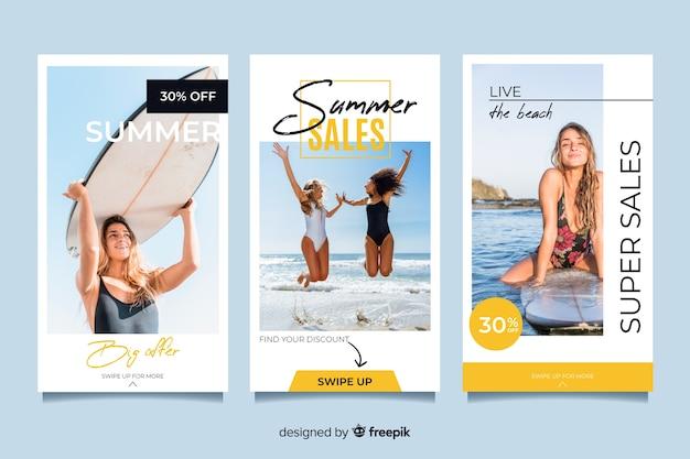 Histoires de soldes d'été