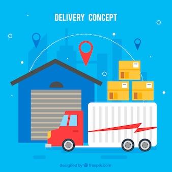 Historique du concept de livraison