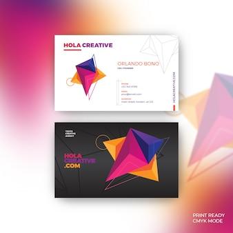 Hola creative business card