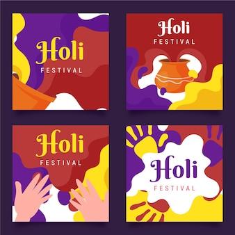 Holi festival instagram posts