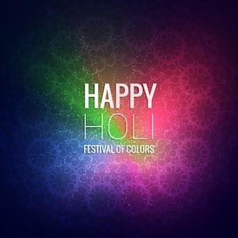 Holi heureux festival de voeux