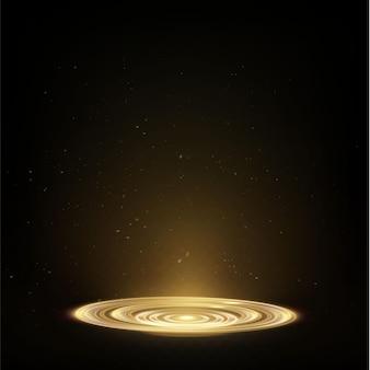 Hologramme à effet de lumière