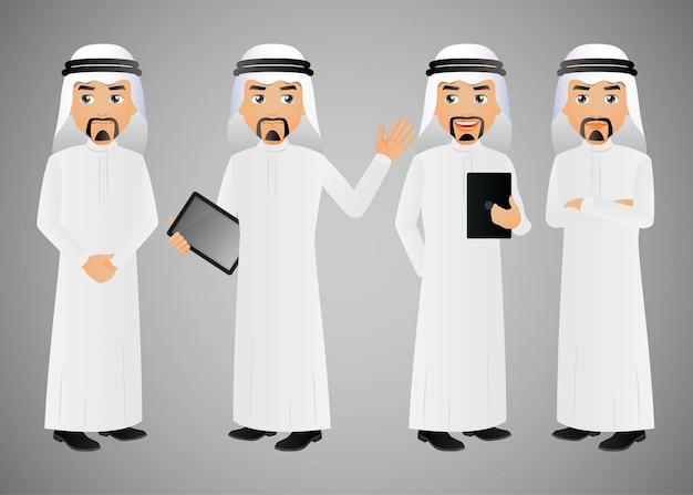 Homme d'affaires arabe élégant