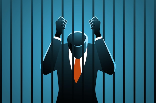 Homme d'affaires corrompu en prison
