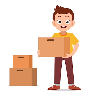 Homme donne illustration vectorielle de donation