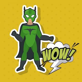 Homme super-héros