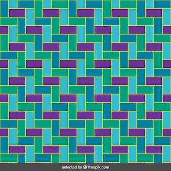 Homogène rectangles colorés mosaïque