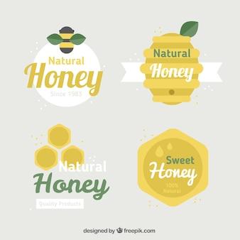 Honey logos pack
