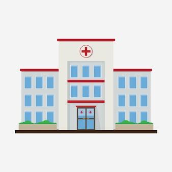 Hôpital Flat Design