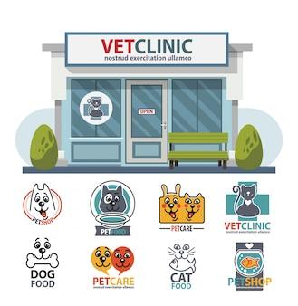 Hôpital de médecine vétérinaire