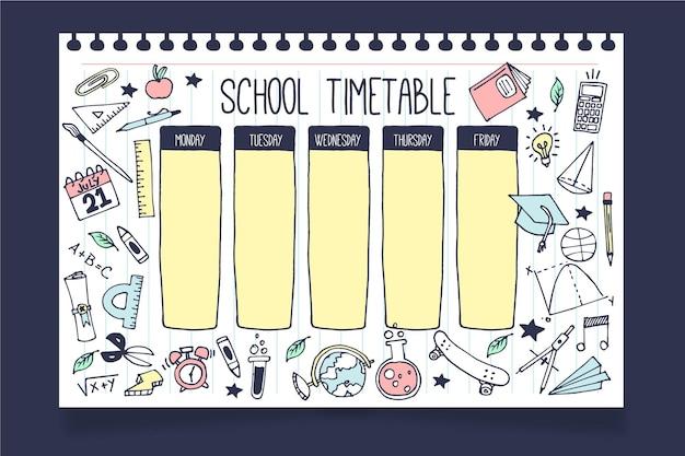 Horaire de la rentrée scolaire
