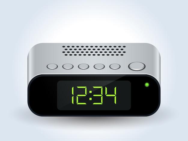 Horloge de bureau numérique réaliste
