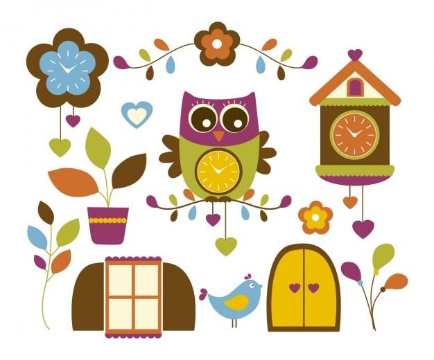 Horloge owl
