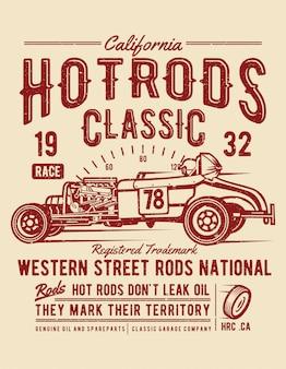 Hot rods race classic
