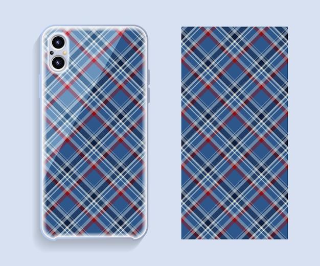 Housse de protection pour smartphone avec motif géométrique