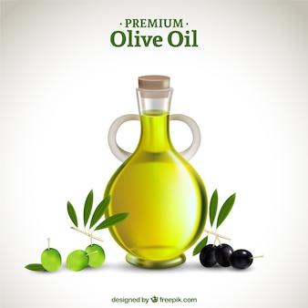 L'huile d'olive haut de gamme