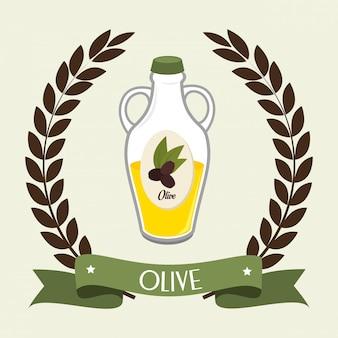Huile d'olive naturelle
