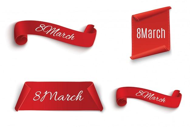 Huit mars. joyeuse journée de la femme