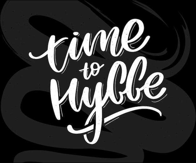 Hygge citation inspirante pour les médias sociaux et les cartes.